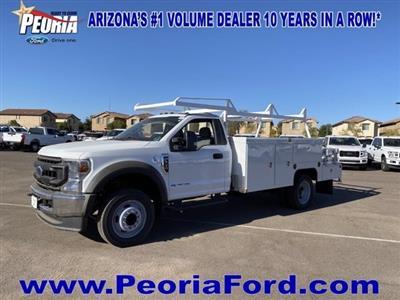 2020 Ford F-550 Regular Cab DRW 4x2, Scelzi SEC Combo Body #LDA09645 - photo 1