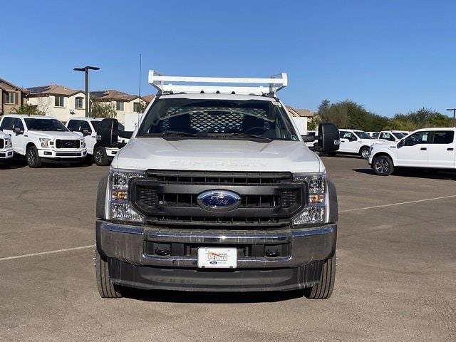 2020 Ford F-550 Regular Cab DRW 4x2, Scelzi SCTFB Contractor Body #LDA09646 - photo 3