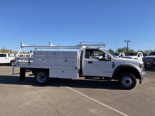 2020 Ford F-550 Regular Cab DRW 4x2, Scelzi SCTFB Contractor Body #LDA09646 - photo 4