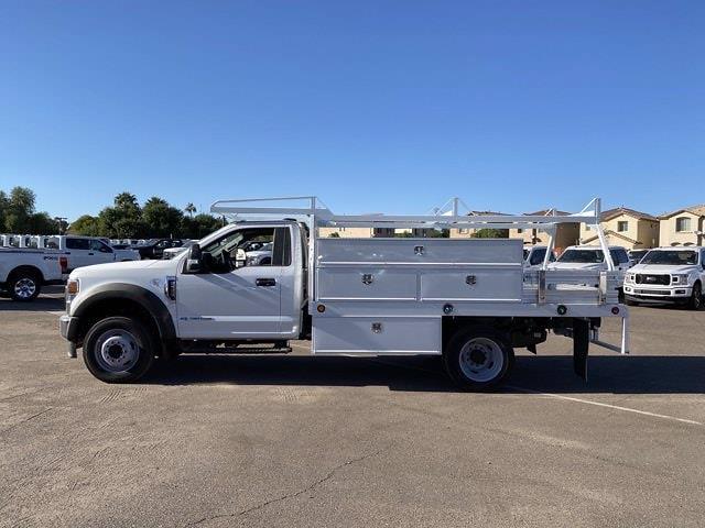 2020 Ford F-550 Regular Cab DRW 4x2, Scelzi SCTFB Contractor Body #LDA09646 - photo 5