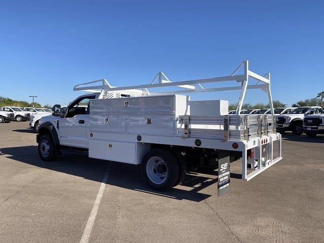 2020 Ford F-550 Regular Cab DRW 4x2, Scelzi SCTFB Contractor Body #LDA09646 - photo 7