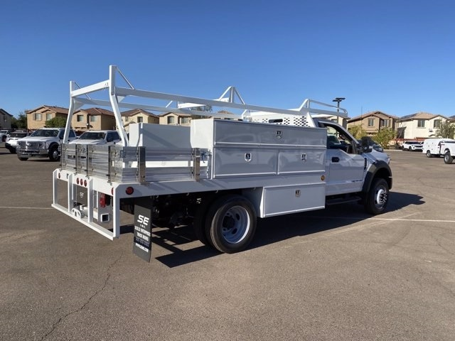 2020 Ford F-550 Regular Cab DRW 4x2, Scelzi Contractor Body #LDA09646 - photo 1