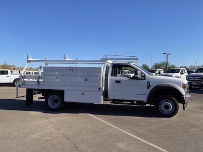 2020 Ford F-550 Regular Cab DRW 4x2, Scelzi SCTFB Contractor Body #LDA09646 - photo 4