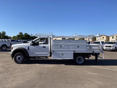 2020 Ford F-550 Regular Cab DRW 4x2, Scelzi SCTFB Contractor Body #LDA09646 - photo 5