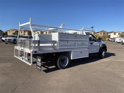 2020 Ford F-550 Regular Cab DRW 4x2, Scelzi SCTFB Contractor Body #LDA09646 - photo 2