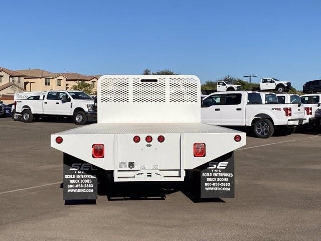 2020 Ford F-550 Regular Cab DRW 4x2, Scelzi SFB Platform Body #LDA09647 - photo 8