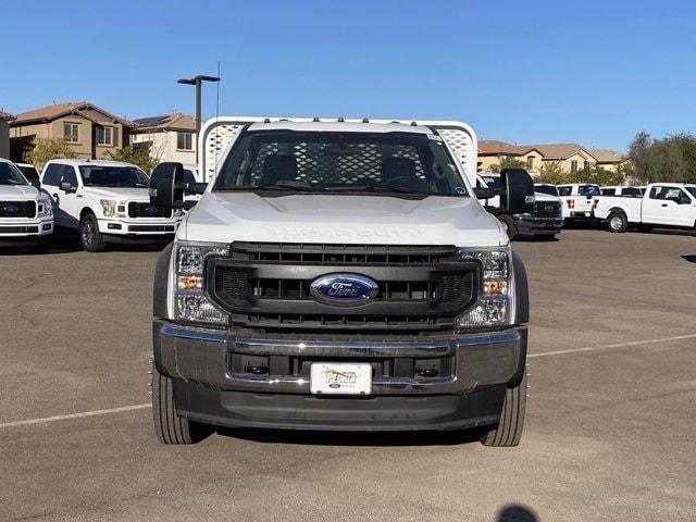 2020 Ford F-550 Regular Cab DRW 4x2, Scelzi SFB Platform Body #LDA09647 - photo 3
