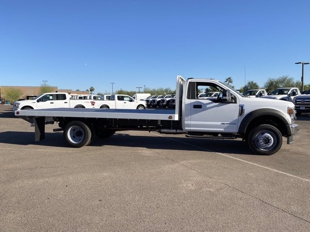 2020 Ford F-550 Regular Cab DRW 4x2, Scelzi SFB Platform Body #LDA09647 - photo 4