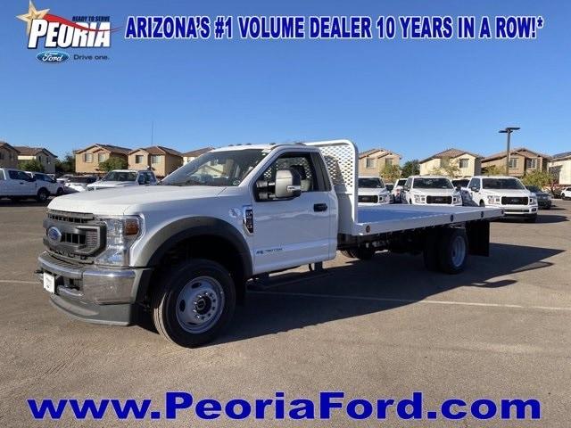 2020 Ford F-550 Regular Cab DRW 4x2, Scelzi Platform Body #LDA09648 - photo 1
