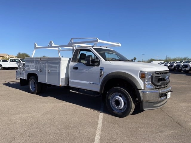2020 Ford F-550 Regular Cab DRW 4x4, Scelzi Combo Body #LDA09649 - photo 1