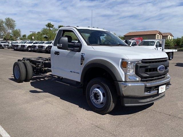 2020 Ford F-550 Regular Cab DRW 4x4, Monroe Platform Body #LDA09828 - photo 1