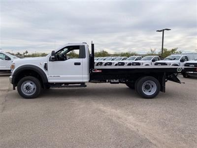 2020 Ford F-550 Regular Cab DRW 4x4, Monroe Work-A-Hauler II Platform Body #LDA09830 - photo 5
