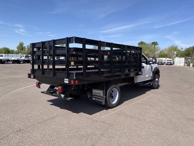 2020 Ford F-550 Regular Cab DRW 4x4, Monroe Stake Bed #LDA09831 - photo 1