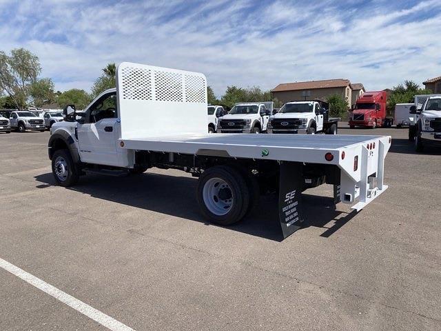 2020 Ford F-550 Regular Cab DRW 4x4, Hillsboro Platform Body #LDA09832 - photo 3