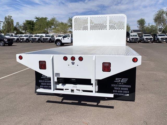 2020 Ford F-550 Regular Cab DRW 4x4, Hillsboro Platform Body #LDA09832 - photo 4