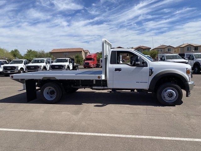 2020 Ford F-550 Regular Cab DRW 4x4, Hillsboro Platform Body #LDA09832 - photo 6