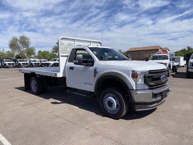 2020 Ford F-550 Regular Cab DRW 4x4, Hillsboro Platform Body #LDA09832 - photo 7