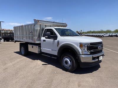 2020 F-550 Regular Cab DRW 4x4,  Monroe Truck Equipment MTE-Zee Landscape Dump #LDA09833 - photo 1