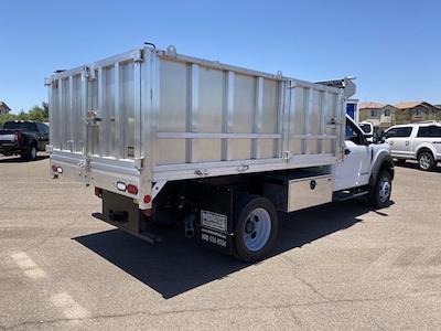 2020 F-550 Regular Cab DRW 4x4,  Monroe Truck Equipment MTE-Zee Landscape Dump #LDA09833 - photo 2
