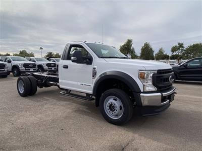 2020 Ford F-550 Regular Cab DRW 4x4, Cab Chassis #LDA13530 - photo 1