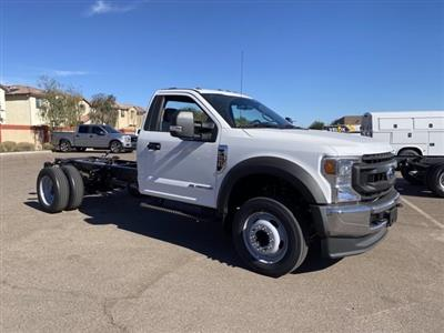 2020 Ford F-550 Regular Cab DRW 4x4, Cab Chassis #LDA13532 - photo 1