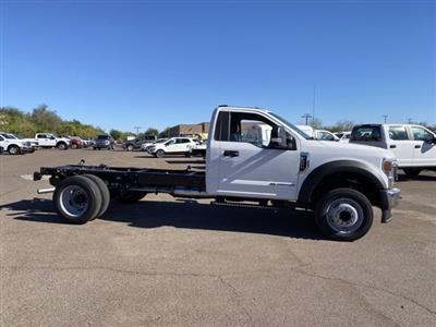 2020 Ford F-550 Regular Cab DRW 4x4, Cab Chassis #LDA13532 - photo 4