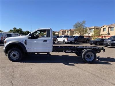 2020 Ford F-550 Regular Cab DRW 4x4, Cab Chassis #LDA13532 - photo 5