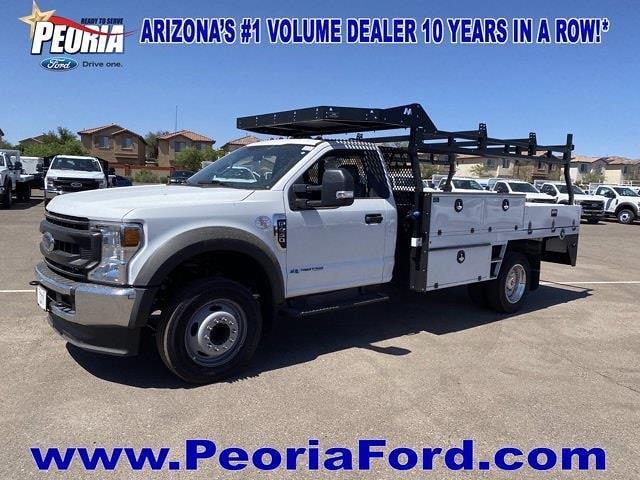 2020 Ford F-450 Regular Cab DRW 4x2, Milron Contractor Body #LDA13829 - photo 1