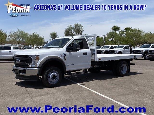 2020 Ford F-550 Regular Cab DRW 4x2, Royal Truck Body Platform Body #LDA14100 - photo 1