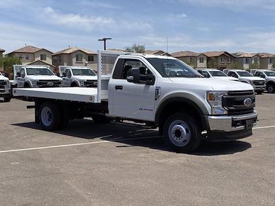 2020 F-550 Regular Cab DRW 4x2,  Royal Truck Body Platform Body #LDA14100 - photo 2