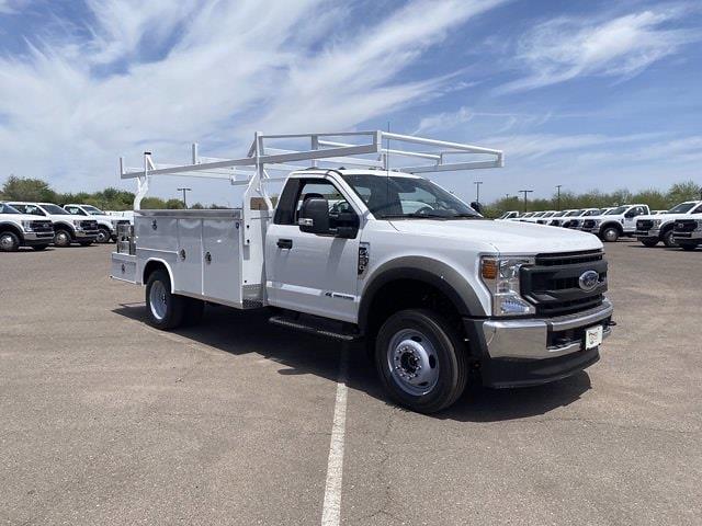 2020 Ford F-550 Regular Cab DRW 4x4, Royal Truck Body Combo Body #LDA14103 - photo 1