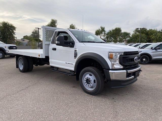 2020 Ford F-550 Regular Cab DRW 4x4, Royal Truck Body Platform Body #LDA14105 - photo 1