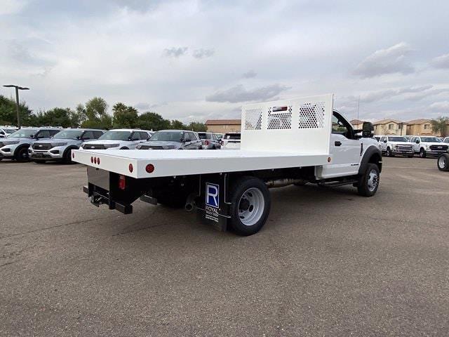 2020 Ford F-550 Regular Cab DRW 4x4, Royal Truck Body Platform Body #LDA14105 - photo 1