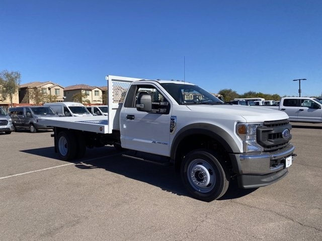 2020 Ford F-550 Regular Cab DRW 4x4, Royal Truck Body Platform Body #LDA14107 - photo 1