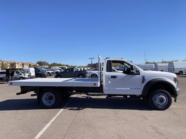 2020 Ford F-550 Regular Cab DRW 4x4, Royal Truck Body Platform Body #LDA14107 - photo 4