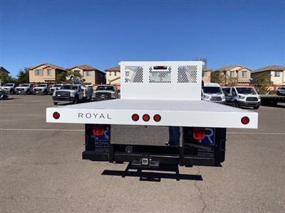 2020 Ford F-550 Regular Cab DRW 4x4, Royal Truck Body Platform Body #LDA14107 - photo 8