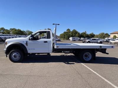 2020 Ford F-550 Regular Cab DRW 4x4, Royal Truck Body Platform Body #LDA14107 - photo 5
