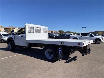 2020 Ford F-550 Regular Cab DRW 4x4, Royal Truck Body Platform Body #LDA14107 - photo 7
