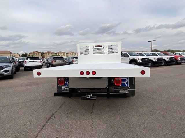 2020 Ford F-550 Regular Cab DRW 4x4, Royal Truck Body Platform Body #LDA14108 - photo 8