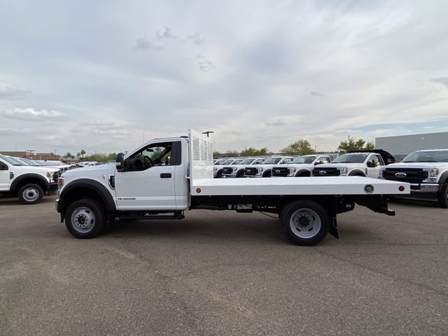 2020 Ford F-550 Regular Cab DRW 4x4, Royal Truck Body Platform Body #LDA14108 - photo 5