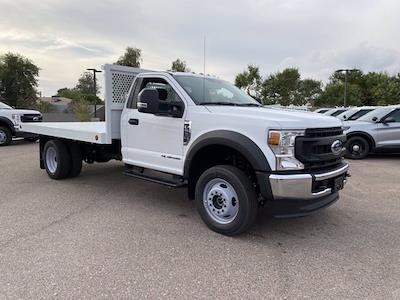 2020 Ford F-550 Regular Cab DRW 4x4, Royal Truck Body Platform Body #LDA14108 - photo 1