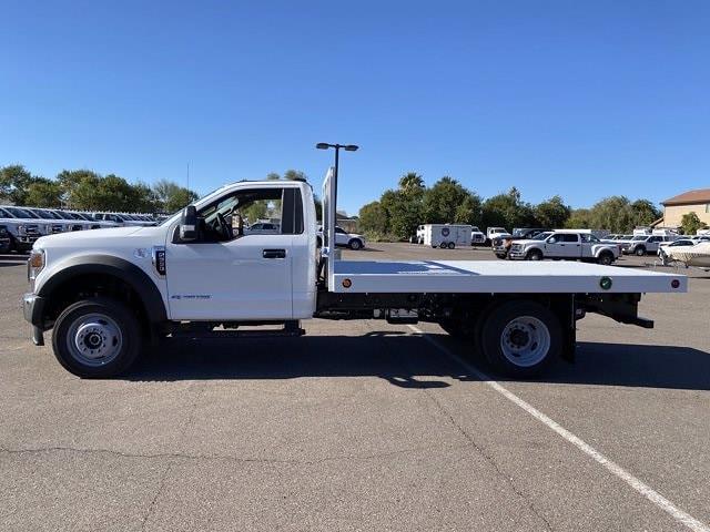 2020 Ford F-550 Regular Cab DRW 4x2, Royal Truck Body Platform Body #LDA14872 - photo 5