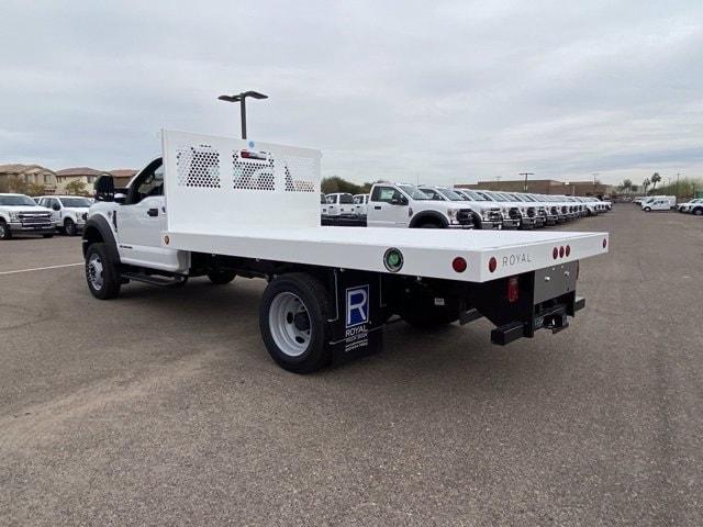 2020 Ford F-550 Regular Cab DRW 4x2, Royal Truck Body Platform Body #LDA14873 - photo 6