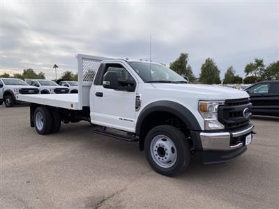 2020 Ford F-550 Regular Cab DRW 4x2, Royal Truck Body Platform Body #LDA14873 - photo 1