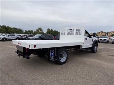 2020 Ford F-550 Regular Cab DRW 4x2, Royal Truck Body Platform Body #LDA14873 - photo 2