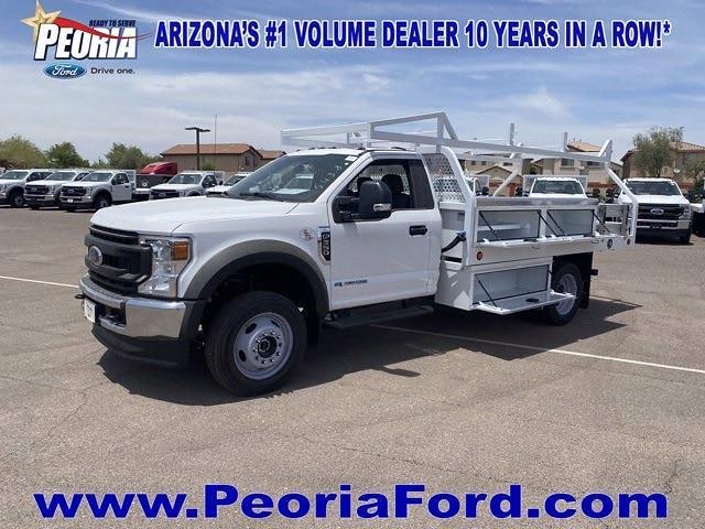 2020 Ford F-550 Regular Cab DRW 4x4, Royal Truck Body Contractor Body #LDA14875 - photo 1
