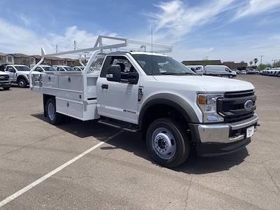 2020 F-550 Regular Cab DRW 4x4,  Royal Truck Body Contractor Body #LDA14875 - photo 1