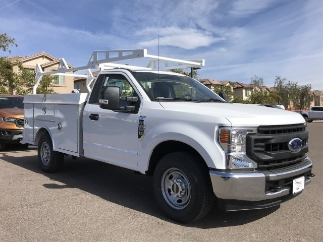 2020 F-250 Regular Cab 4x2, RhinoPro Truck Outfitters Service Body #LEC24666 - photo 1