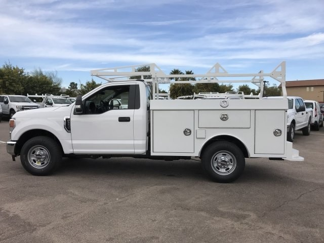 2020 F-250 Regular Cab 4x2, RhinoPro Truck Outfitters Service Body #LEC24676 - photo 8
