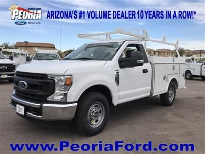 2020 F-250 Regular Cab 4x2, RhinoPro Truck Outfitters Service Body #LEC24676 - photo 1